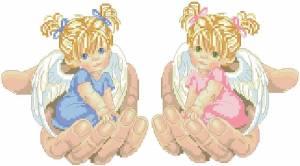 Схема Ангелочки в руках