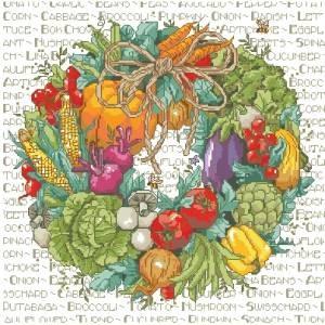 Схема Овощной венок