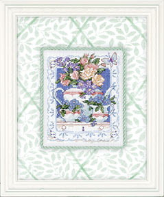 Схема Чайное время / Teatime Blossoms