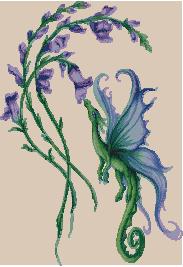 Схема Цветочный дракон