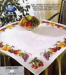 Схема Скатерть с фруктами