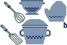 Схема Кухонный гарнитур / Kitchen Set