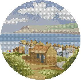 Схема Прибережная деревня