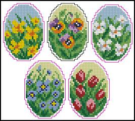 Схема Яйца пасхальные