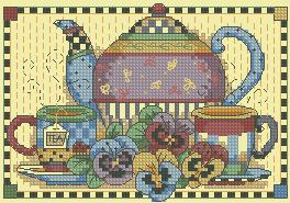 Схема Чайный сервиз