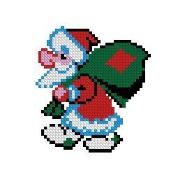 Схема Дед Мороз (маленькая схема)