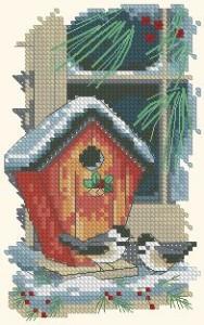 Схема Птицы зимой