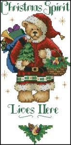 Схема Мишка-Санта Клаус