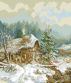 Схема Зима, кузница / The Smithy