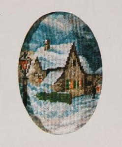 Схема Город в снегу / Town in the Snow