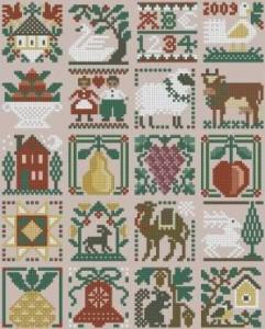 Схема Рождественский сэмплер