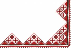 Схема Салфетка, кресты