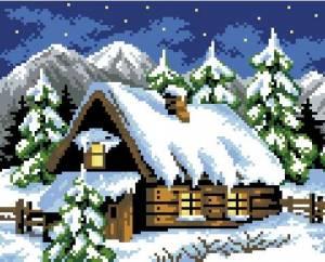 Схема Зимний домик