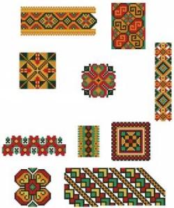 Схема Мини-Орнаменты