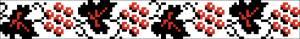 Схема Узор ягоды