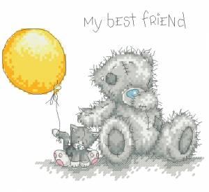 Схема Мишки Тедди / My best friends