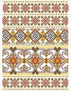 Схема Рушник Медовий (Західна Україна)