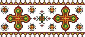 Схема Узор, кресты