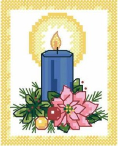 Схема Рождественская свеча