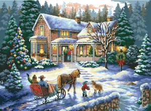 Схема Новогодние гости