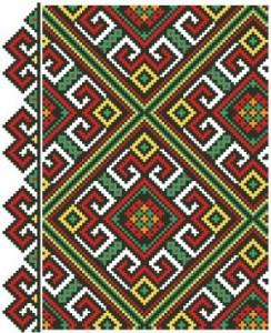 Схема Геометрический орнамент
