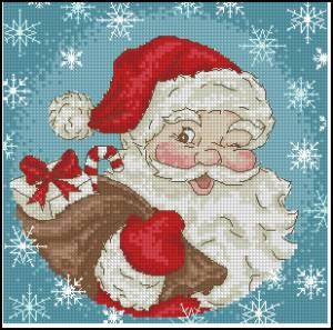 Схема Дед мороз