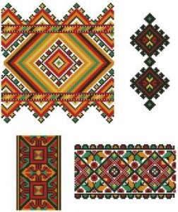 Схема Красочные орнаменты