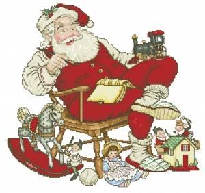 Схема Санта на работе