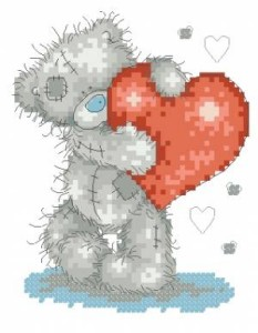Схема Мишки Тедди / Tatty Teds Hearts