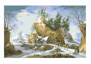 Схема Зима в Апеннинах