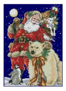 Схема С любовью Санта