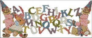 Схема Алфавит и мишки