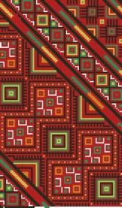 Схема Яркий орнамент