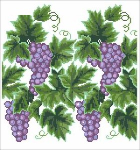 Схема Грона винограду (Чернігівщина)