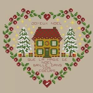 Схема Рождественское сердечко
