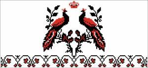 Схема Рушник птицы