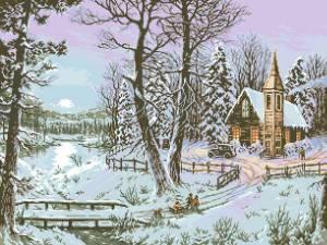 Схема Зимняя дорога к дому