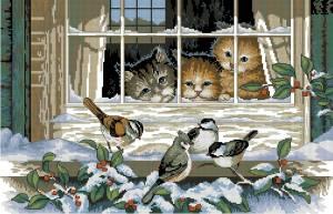 Схема Три котёнка