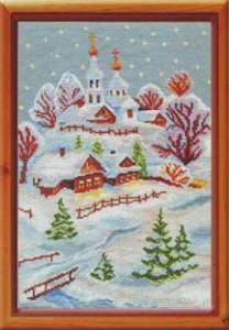 Схема Веселое Рождество