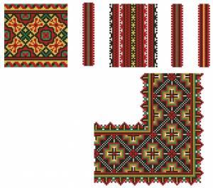 Схема Красивые орнаменты