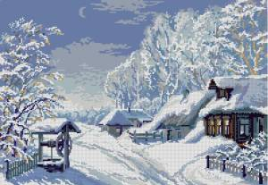 Схема Всё в снегу