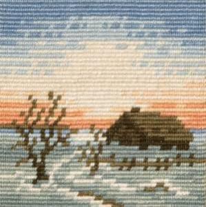 Схема Зимний вечер / Winter Evening