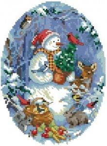 Схема Снеговик