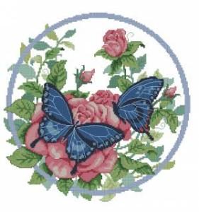 Схема Бабочки и розы