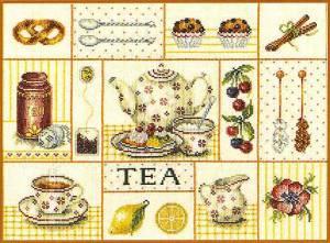 Схема Чайный коллаж