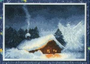 Схема Рождественская ночь
