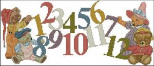Схема Цифры и мишки