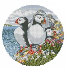 Схема Семья пингвинов