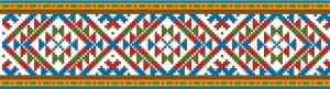 Схема Узор, треугольники