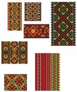 Схема Семь орнаментов